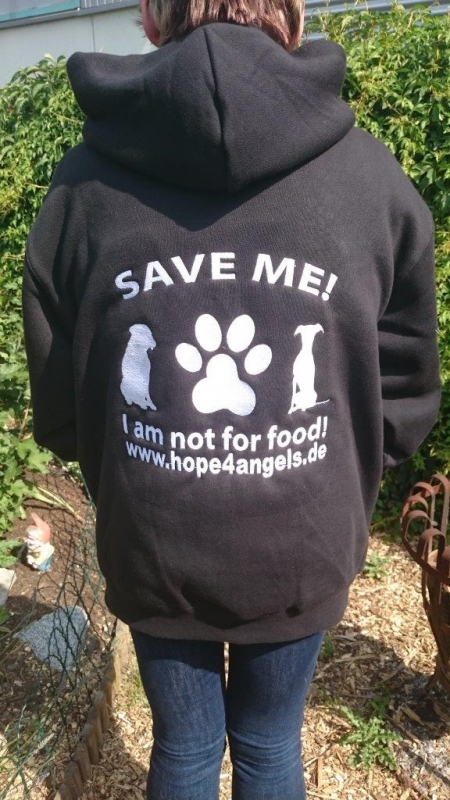 Kapuzen Sweatjacke Hope4Angels
